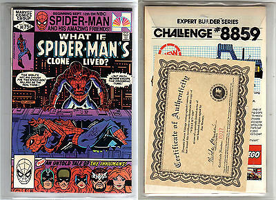 What if v1 30 Spider-Man's Clone lived? Dynamic Forces 37/100 signed Jim Mooney
