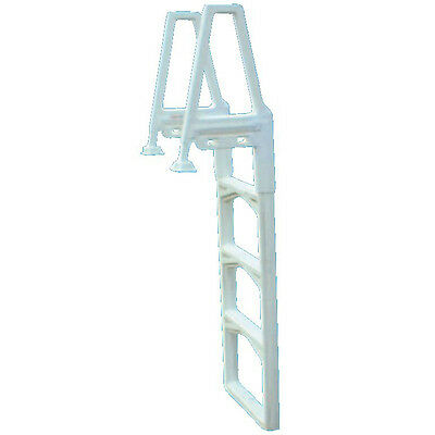 Confer 63552 Deluxe Straight Up and Down Pool Ladder 22'' High Handrails 635-52