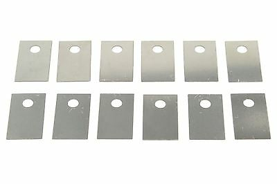 Floyd Rose Bridge Saddle Shim Set for adjusting individual saddle height. 12pcs