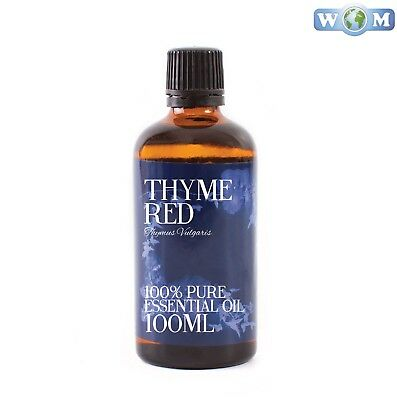 Thyme Red Essential Oil 100ml 100% Pure (EO100THYMRED)