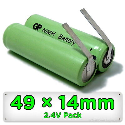 Replacement Shaver Battery for Philips Philishave Norelco Braun NiMH 49mm x 14mm