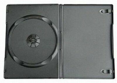 30 Standard Black Single DVD Cases - 14MM - also work for CDs