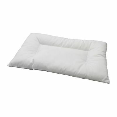 IKEA Baby Pillow With 2 Cotton Pillowcases For Cot  White Toddler Kids Children