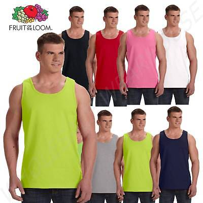 Fruit of the Loom 5 oz.100% Heavy Cotton Tank Top S-3XL T Shirts M39TKR