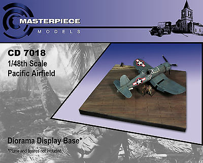 CD 7018 1/48th scale Pacific Airfield diorama Base