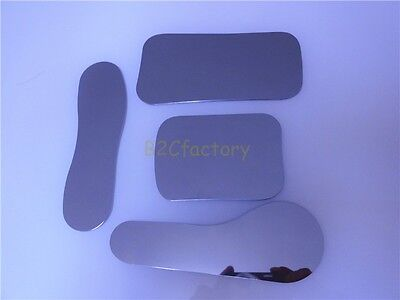 4PCS Dental Clinic Stainless Steel Photography Mirrors Orthodontic Intra-oral