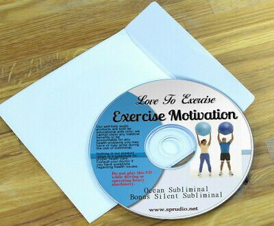 Subliminal CD Exercise Motivation - Love to Exercise, Stay Fit and Healthy Ocean
