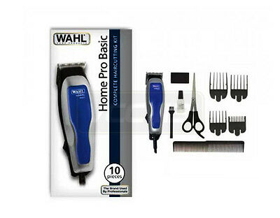 WAHL Hair Cutting Home Pro Basic Clipper Kit 10 Pieces  9155-008