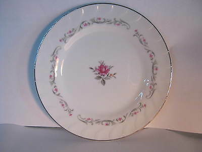 """ROYAL SWIRL FINE CHINA-MADE IN JAPAN-MS-SMALL PLATES-7 1/2"""""""