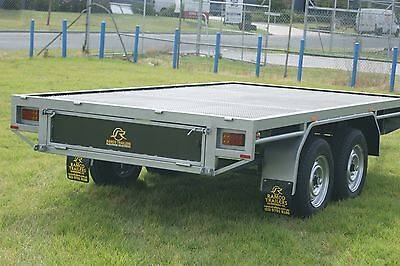 12x6 Flat Top Tray Trailer 2 Tonne GVM