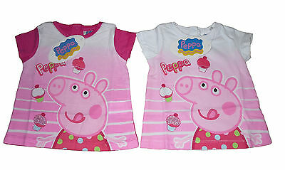 Baby Girls T-Shirt Top Peppa Pig 12 - 30 Months