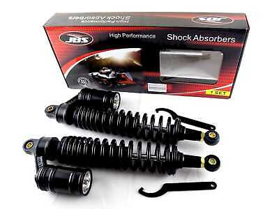 CAN-AM MX-6 250 400mm JBS REAR AIR/NITROGEN CELL SHOCK ABSORBERS BLK