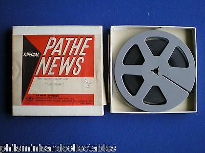 Standard 8mm film - Pathe News   ' The Derby ' 1965  150ft  B/W