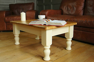 Traditional Fawley Farmhouse Pine Coffee Table from THE GOOD SHELF COMPANY