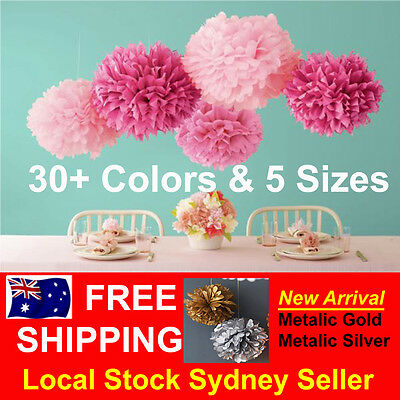 Tissue Paper Pom Poms Wedding Party Baby Living Room Decoration Home Pompoms
