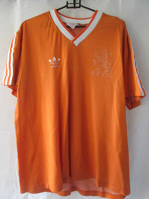 Holland 1985-1988 Home Football Shirt Size Medium chest /10227