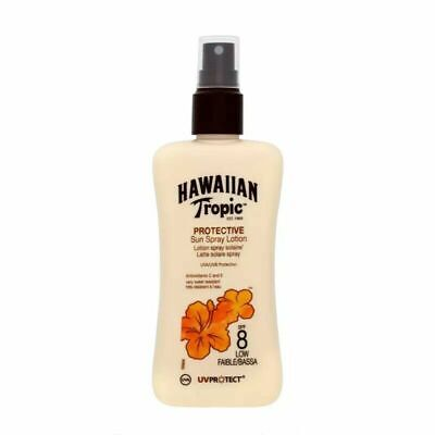 Hawaiian Tropic Satin Protection Sun Spray Lotion SPF 8 200ml