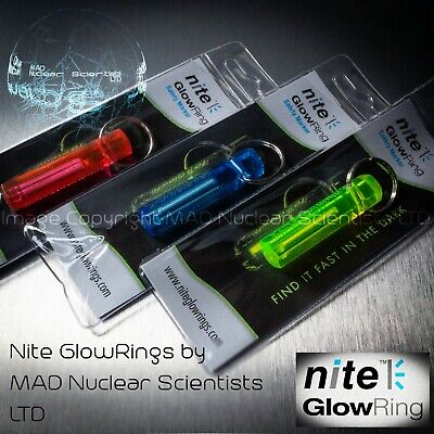 Nite GlowRing - Glow In The Dark - Tritium - Tinted Case