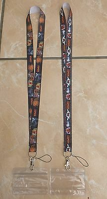 Back To The Future Lanyard / Neck Strap for Pin Trading inc. Waterproof Holder