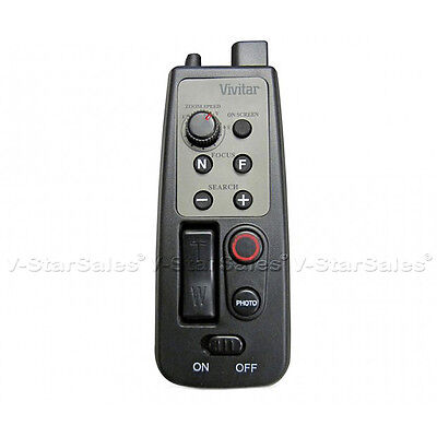 Tripod LANC Zoom Controller Remote A/V R for Canon Sony Camcorders