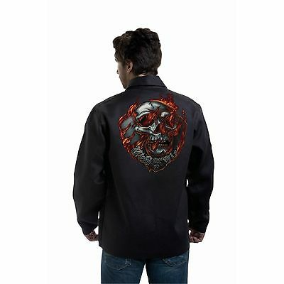 Tillman 9062 Weld or Die Black Onyx Welding Jacket - XL