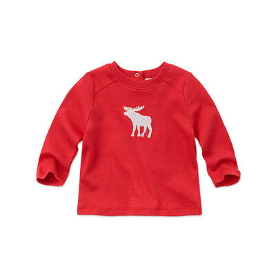 SALE 20% off Boys tee t-shirt red with long sleeves