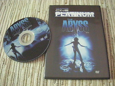 Dvd Pelicula The Abyss James Cameron Cine Platinum Usado Buen Estado