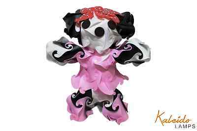 Handmade Unique Kaleido Lamps Minnie Mouse night light Assembled Cord&Bulb Inclu