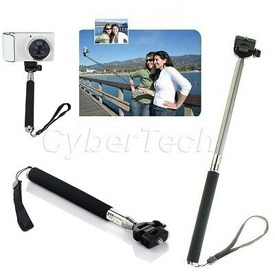 Compact Extendable Handheld Pole Holder Monopod 4 Camera Camcorder Sony Olympus
