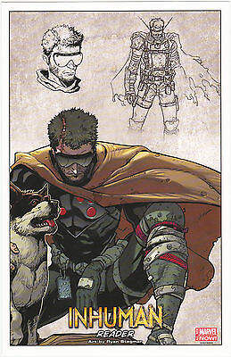 Inhuman Set Of 2 Joe Madureira & Ryan Stegman  Litho Prints (2014) Special Offer