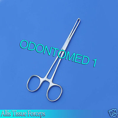 "6 Stainless Steel Allis Tissue Forceps 4X5T Veterinary 6"" Surgical"