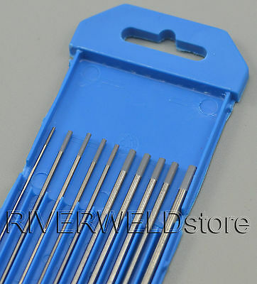 2% Ceriated WC20 TIG Tungsten Electrode Assorted Size 1.0mm 1.6 2.4mm 3.2mm,10PK