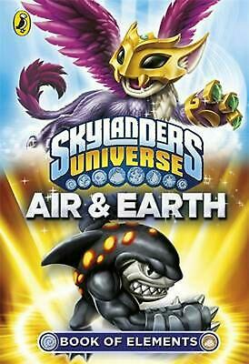 Skylanders Book of Elements: Air and Earth Paperback Book Free Shipping!