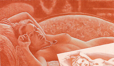 KATE WINSLET NUDE SCENE TITANIC limited edition signed print by Robert Antell