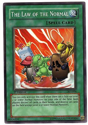 The Law of the Normal AST-094 carte Yu-Gi-Oh! 1st First Edition (ENGLISH CARD)