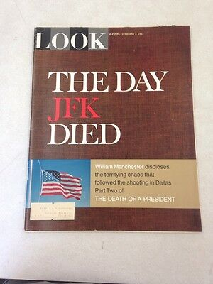 Look Magazine February 7 1967  The Day JFK Died