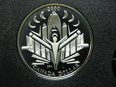 2000 Voyage of Discovery Canadian Silver Coin