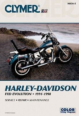 Clymer Repair Service Shop Manual Harley Davidson FXD Dyna Evolution 1991-1998