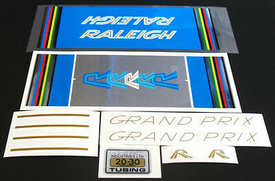 Raleigh Grand Prix 1978 decal set of 11