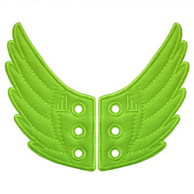 SHWINGS NEON GREEN wings for your shoes official designer Shwings NEW 10210