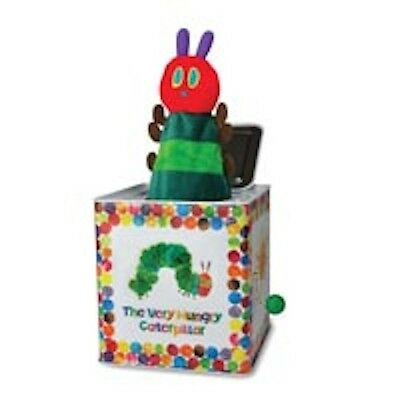 Kids Preferred Eric Carle The Very Hungry Caterpillar Jack In The Box Toy