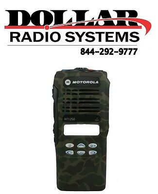 New Camouflage Front Housing for Motorola HT1250 HT1250LS 16Ch Radio Case