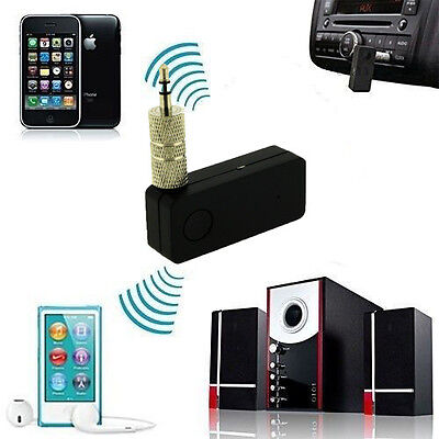 Bluetooth Music Streaming 3.5mm Stereo Home Car Wireless Audio Receiver Adapter