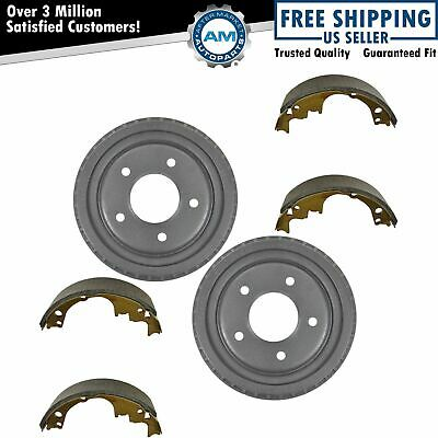 Rear Brake Drum & Shoe Kit Set Left LH & Right RH for 95-02 Astro Safari Van