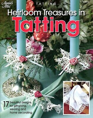 Heirloom Treasures in Tatting, Annie's tatting patterns