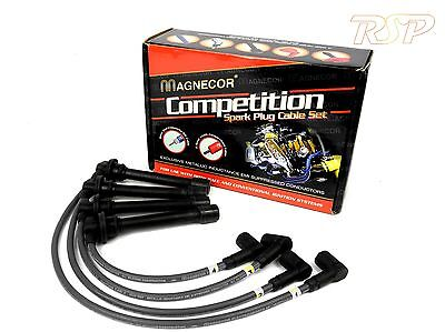 Magnecor 7mm Ignition HT Leads/wire/cable Audi 80/100 Coupe/quattro/A6 2.0i 16v