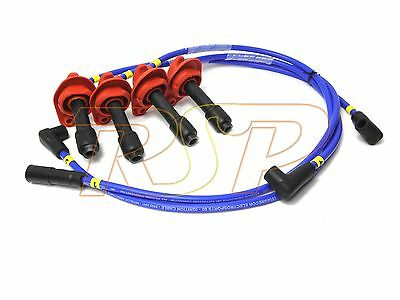 Magnecor 8mm Ignition HT Leads Wires Cable Subaru Impreza Turbo 2.0i 16v 1998-01