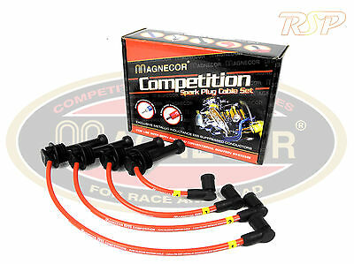 Magnecor KV85 Ignition HT Leads/wire/cable Ford Escort Mk4 RS Turbo 1986 - 1990