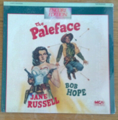 The Paleface Laserdisc (1948) NEW SEALED FREE SHIPPING