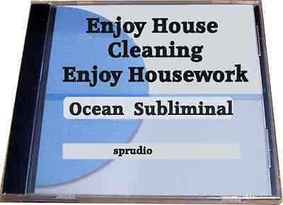 Enjoy Housework / House Cleaning Ocean Subliminal CD, Bonus Silent Subliminal